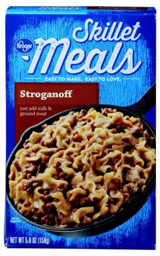 Kroger® Skillet Meals Stroganoff Perspective: front