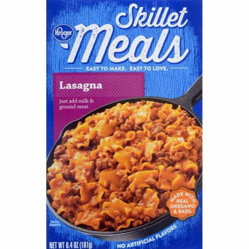 Kroger® Skillet Meals Lasagna Perspective: front