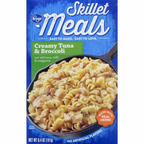 Kroger® Skillet Meals Creamy Tuna & Broccoli Perspective: front