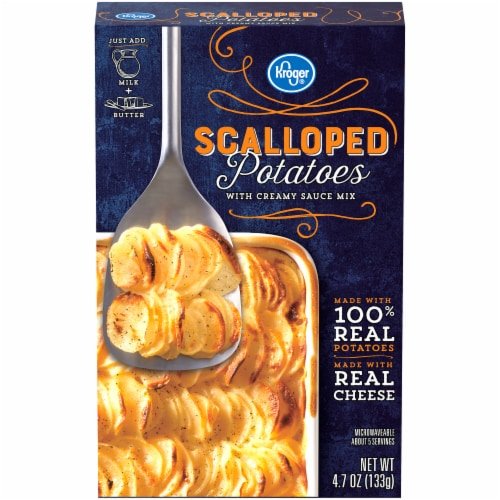Kroger® Scalloped Potatoes with Creamy Sauce Mix Perspective: front