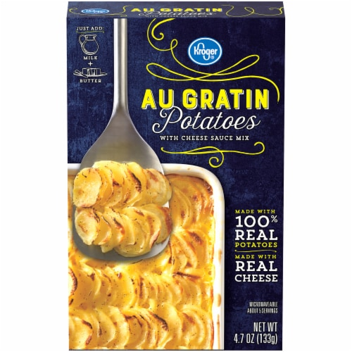 Kroger® Au Gratin Potatoes with Cheese Sauce Mix Perspective: front