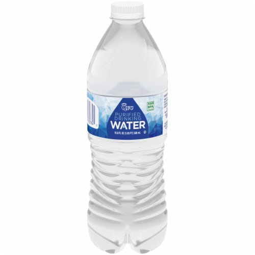 QFC Purified Drinking Water Perspective: front
