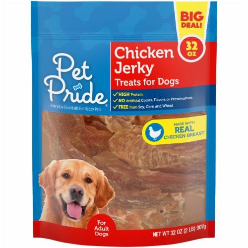 Pet Pride™ Chicken Jerky Dog Treats Perspective: front