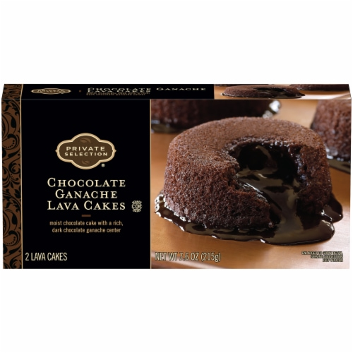Private Selection™ Chocolate Ganache Lava Cakes 2 Count Perspective: front