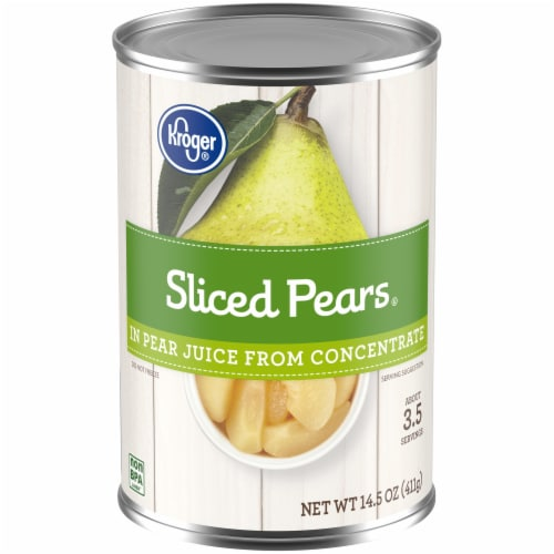 Kroger® Sliced Pears Perspective: front