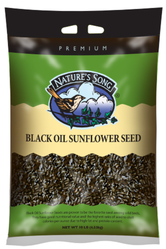 Nature's Song® Premium Black Oil Sunflower Seed Perspective: front
