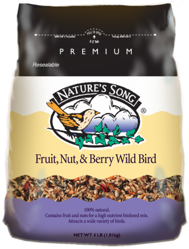 Nature's Song® Fruit Nut & Berry Wild Bird Food Perspective: front
