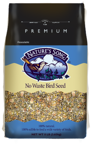 Nature's Song® Premium No-Waste Bird Seed Perspective: front