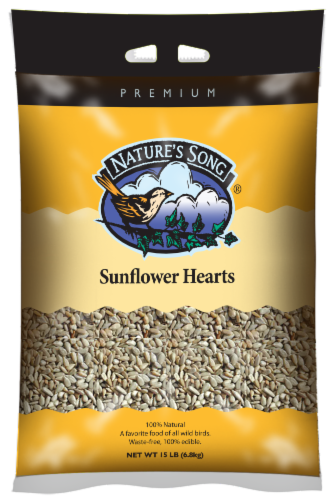 Nature's Song® Premium Sunflower Hearts Perspective: front