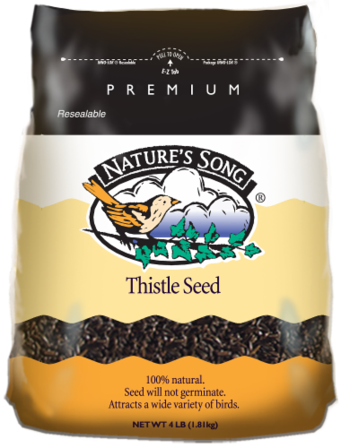 Nature's Song® Thistle Seed Wild Bird Food Perspective: front
