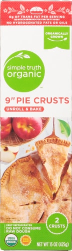 Simple Truth Organic™ Unroll & Bake 9-Inch Pie Crusts Perspective: front