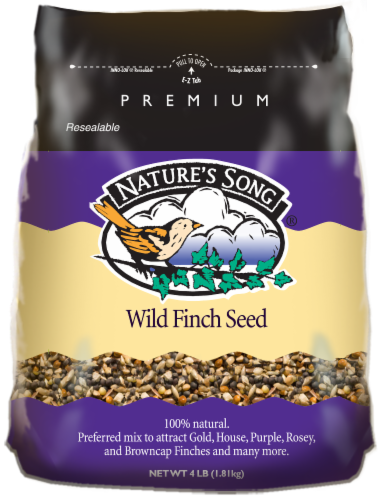 Nature's Song® Wild Finch Seed Perspective: front