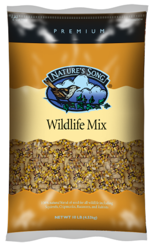 Nature's Song® Wildlife Mix Wild Bird Food Perspective: front