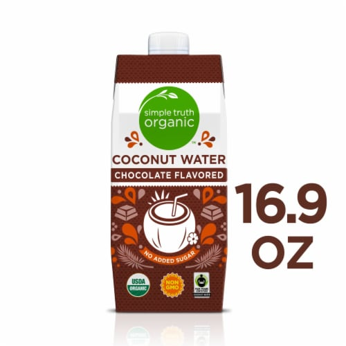 Simple Truth Organic™ Chocolate Flavored Coconut Water Perspective: front