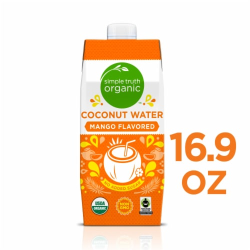 Simple Truth Organic™ Mango Flavored Coconut Water Perspective: front