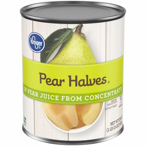 Kroger® Pear Halves in Pear Juice from Concentrate Perspective: front