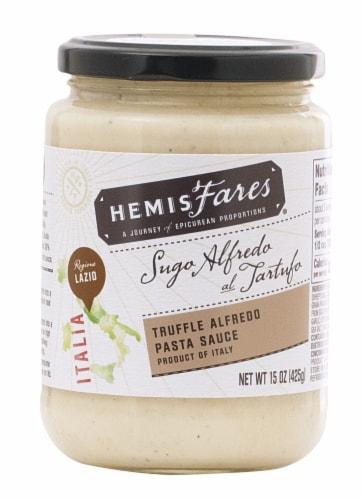 HemisFares® Truffle Alfredo Pasta Sauce Perspective: front
