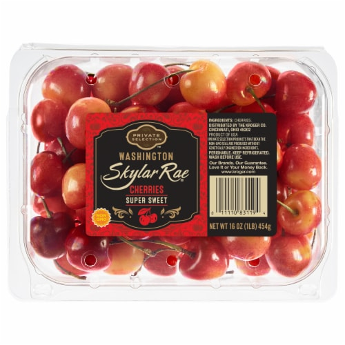 Private Selection™ Skylar Rae Super Sweet Washington Cherries Perspective: front