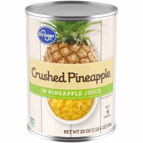 Kroger® Crushed Pineapple in Pineapple Juice Perspective: front