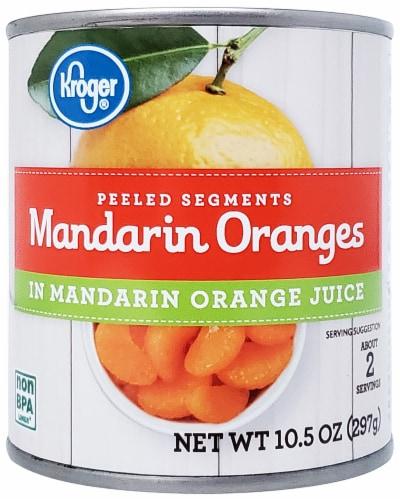Kroger® Mandarin Orange Segments in Juice Perspective: front