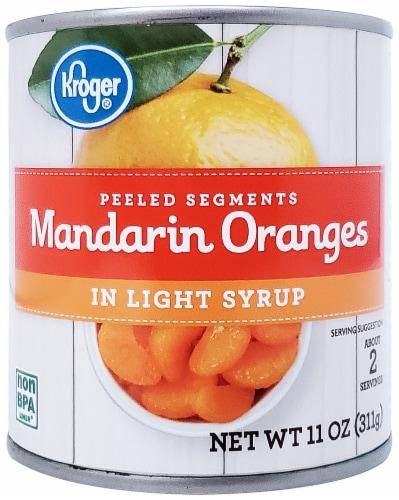 Kroger® Mandarin Oranges in Light Syrup Perspective: front