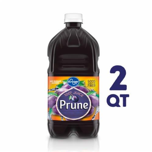 Kroger® No Sugar Added 100% Prune Juice Perspective: front