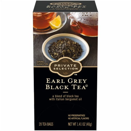 Private Selection™ Earl Grey Black Tea Perspective: front