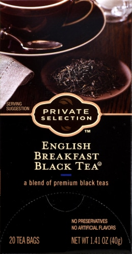 Private Selection™ English Breakfast Black Tea Perspective: front