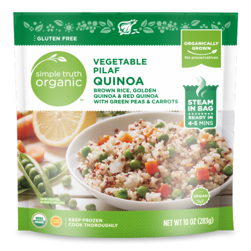 Simple Truth Organic™ Vegetable Pilaf Quinoa Perspective: front