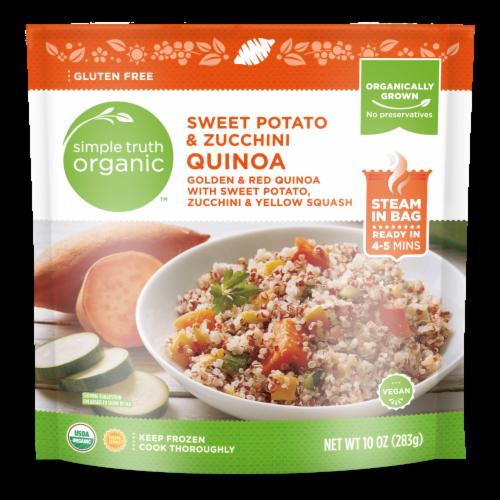 Simple Truth Organic™ Sweet Potato & Zucchini Quinoa Perspective: front