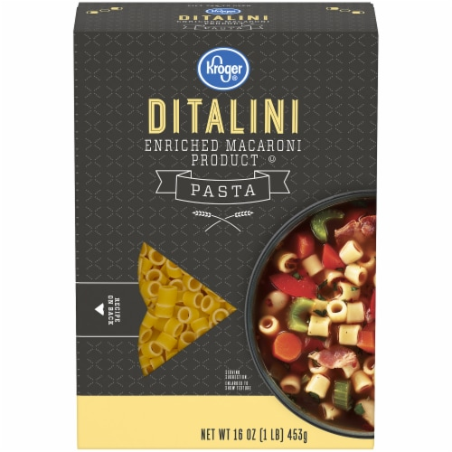 Kroger®  Ditalini Pasta Perspective: front