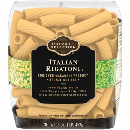 Private Selection® Italian Rigatoni Pasta Perspective: front