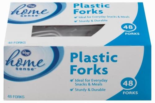 Kroger®  Plastic Forks Perspective: front