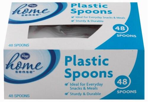 Kroger® Home Sense™ Plastic Spoons Perspective: front
