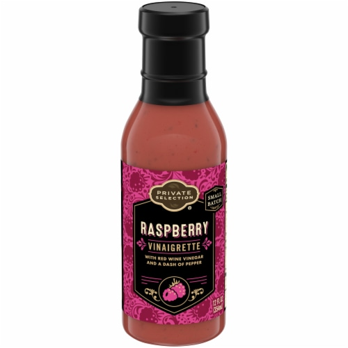 Private Selection® Raspberry Vinaigrette Perspective: front