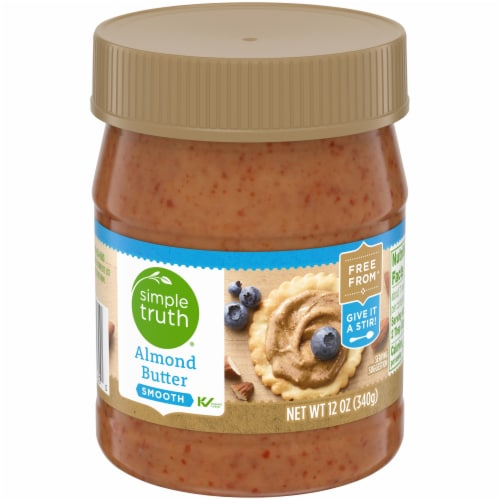 Simple Truth® Smooth Almond Butter Perspective: front