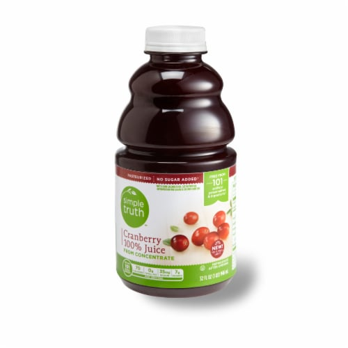 Simple Truth™ 100% Cranberry Juice Perspective: front