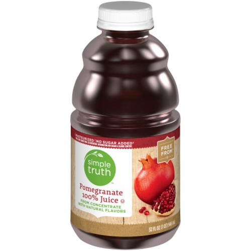 Simple Truth™ 100% Pomegranate Juice Perspective: front