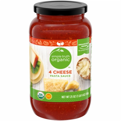Simple Truth Organic™ 4 Cheese Pasta Sauce Perspective: front