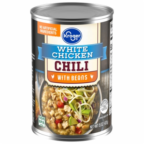 Kroger® White Chicken Chili with Beans Perspective: front