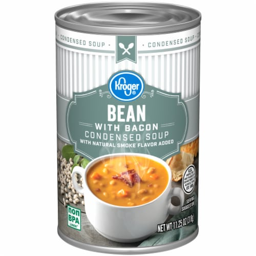 Kroger® Bean with Bacon Condensed Soup Perspective: front