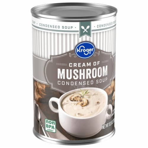 Kroger® Cream of Mushroom Condensed Soup Perspective: front