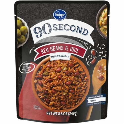 Kroger® 90 Second Red Beans & Rice Perspective: front