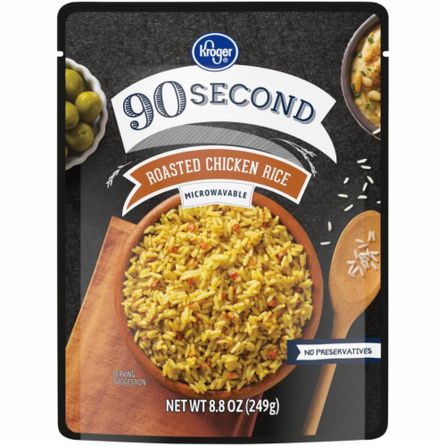 Kroger® 90 Second Roasted Chicken Rice Perspective: front
