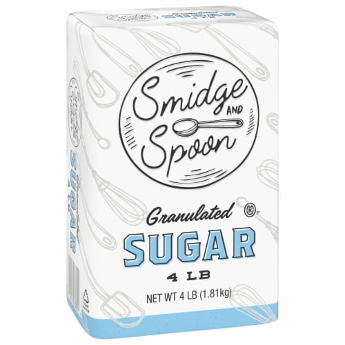 Smidge & Spoon Granulated Sugar Perspective: front