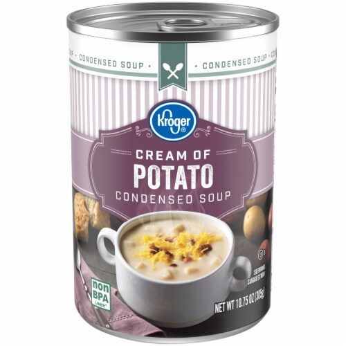 Kroger® Cream of Potato Condensed Soup Perspective: front