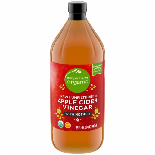 Simple Truth Organic™ Raw Unfiltered Apple Cider Vinegar with Mother Perspective: front