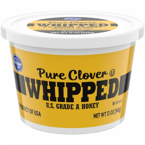 Kroger® Whipped Pure Clover Honey Tub Perspective: front