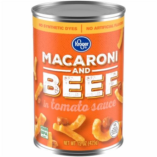 Kroger® Macaroni & Beef Perspective: front