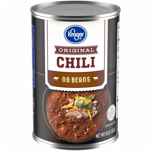 Kroger® Original No Beans Chili Perspective: front